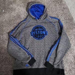Detroit piston adidas hoodie
